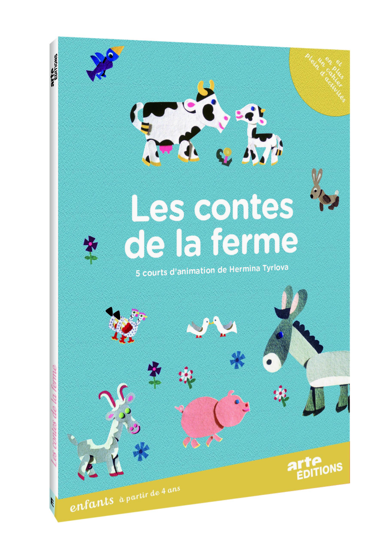 CONTES A LA FERME ET ATELIER ENCHANTE - DVD