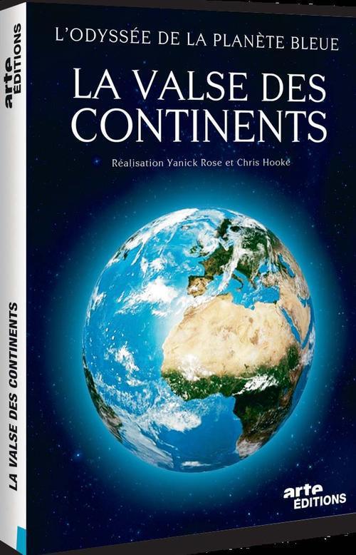 VALSE DES CONTINENTS - ODYSSEE DES SCIENCES V1 - 2 DVD