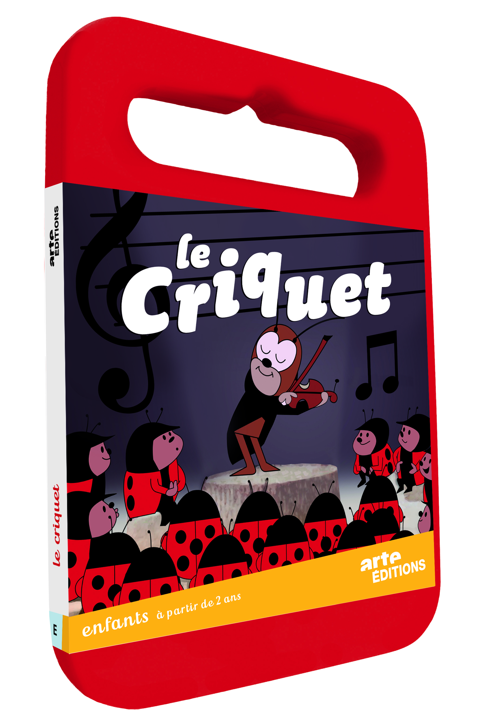 LE CRIQUET - DVD