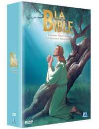COFFRET LA BIBLE L'INTEGRALE - 6 DVD - L'ANCIEN TESTAMENT & LE NOUVEAU TESTAMENT