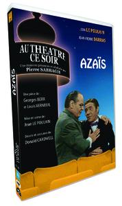 AZAIS - AU THEATRE CE SOIR - DVD