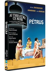 PETRUS - AU THEATRE CE SOIR - DVD