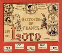 JEU DE LOTO - HISTOIRE DE FRANCE