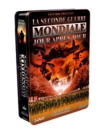 2EME GUERRE MONDIALE JOUR APRES JOUR - COFFRET METAL 3 DVD