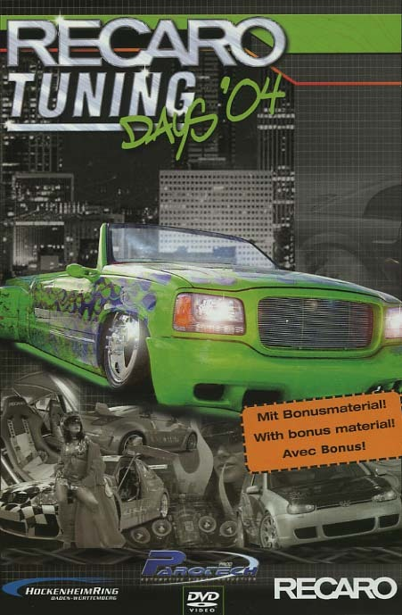 RECARO TUNING DAYS'04 - DVD