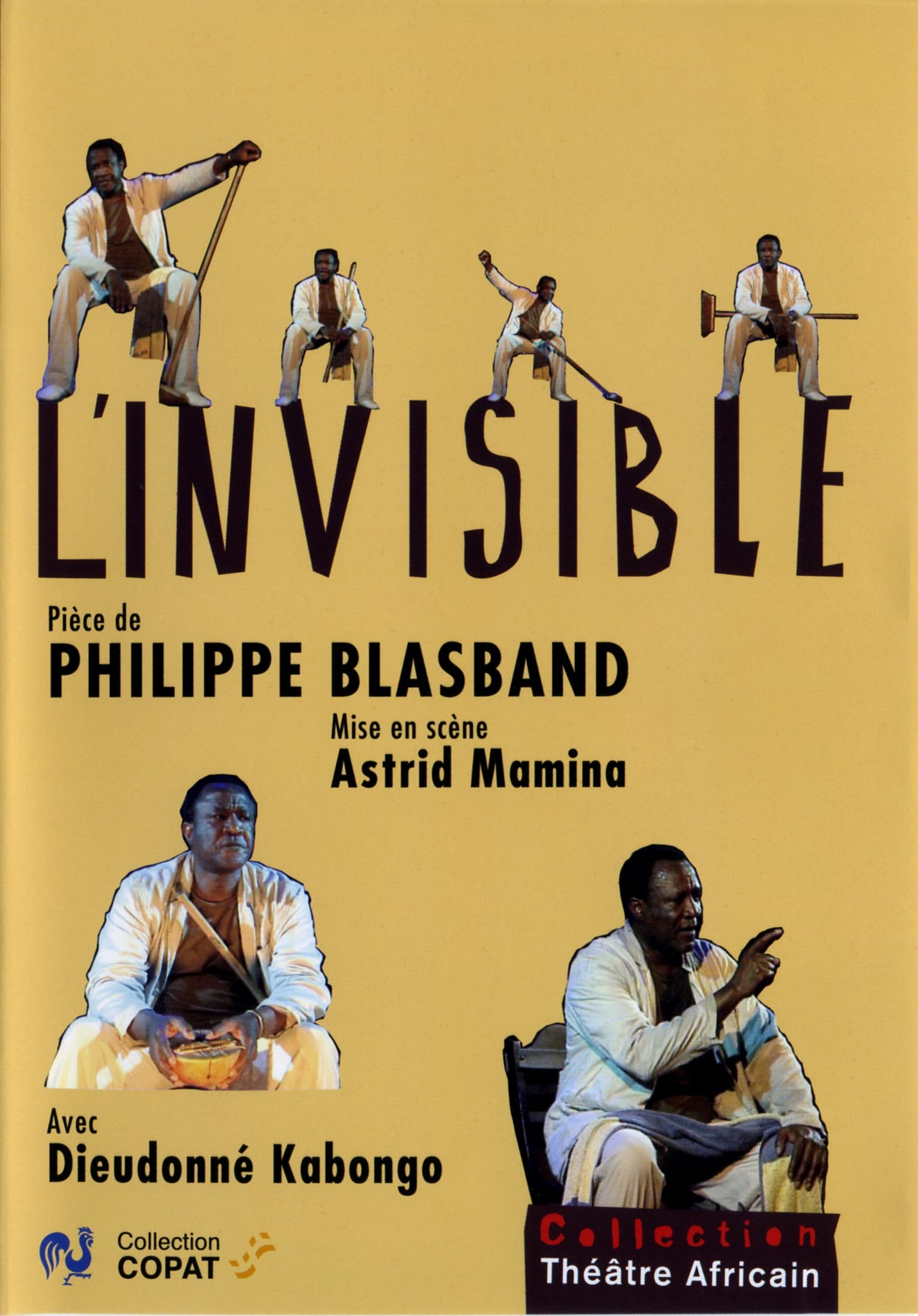 L'INVISIBLE - DVD  COLLECTION THEATRE AFRICAIN