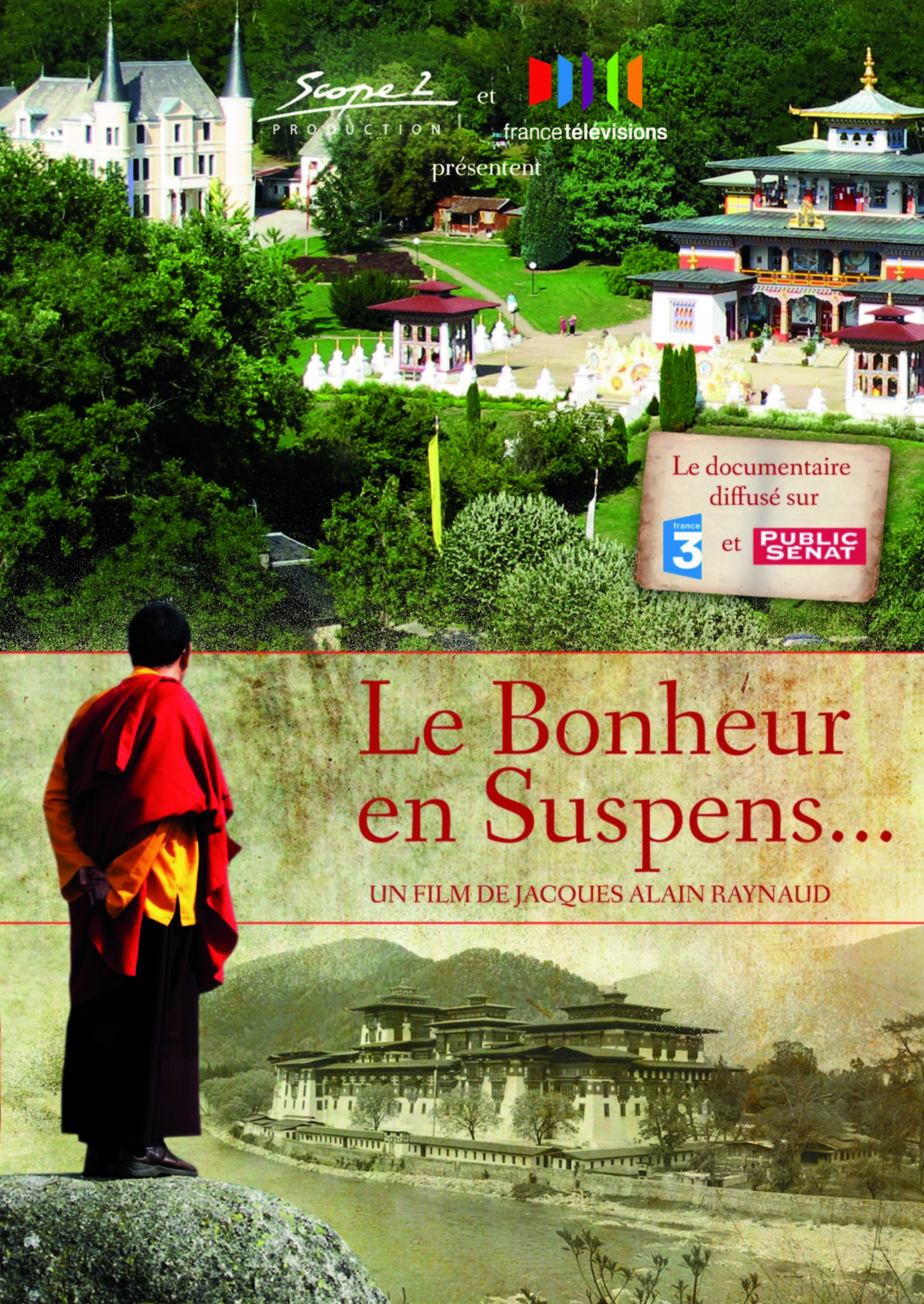 LE BONHEUR EN SUSPENS - DVDEDITION SIMPLE