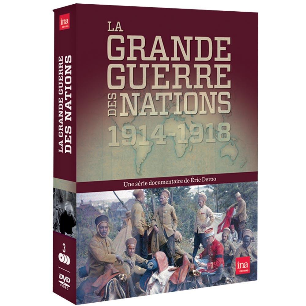 GRANDE GUERRE DES NATIONS - 3 DVD