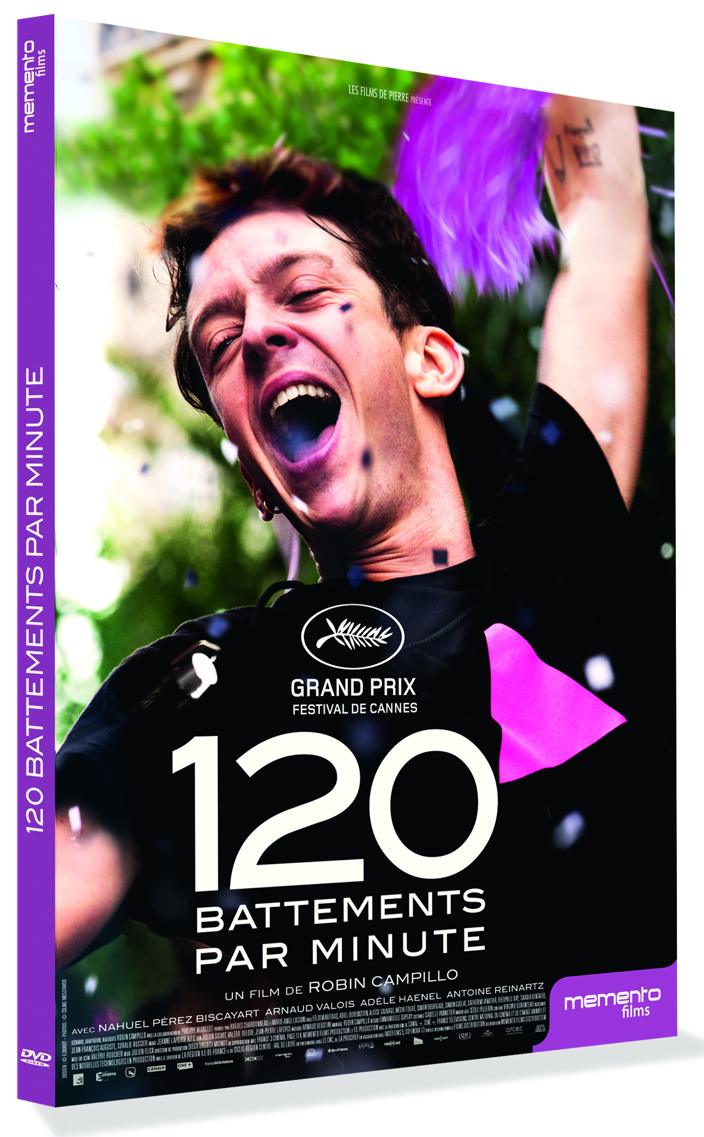 120 BATTEMENTS PAR MINUTE - ED SIMPLE - DVD
