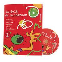 """""""AU-DELA DE LA CHANSON"""" LIVRET CD"""