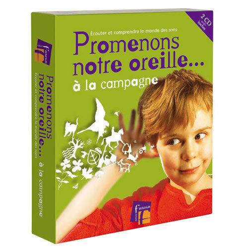 PROMENONS NOTRE OREILLE A LA CAMPAGNE COFFRET