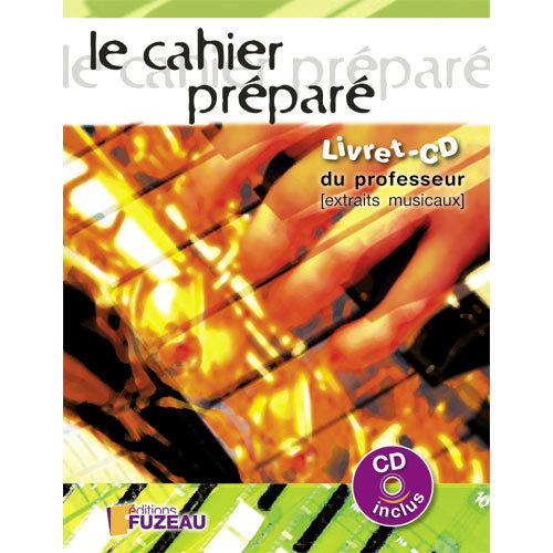 CAHIER PREPARE CD