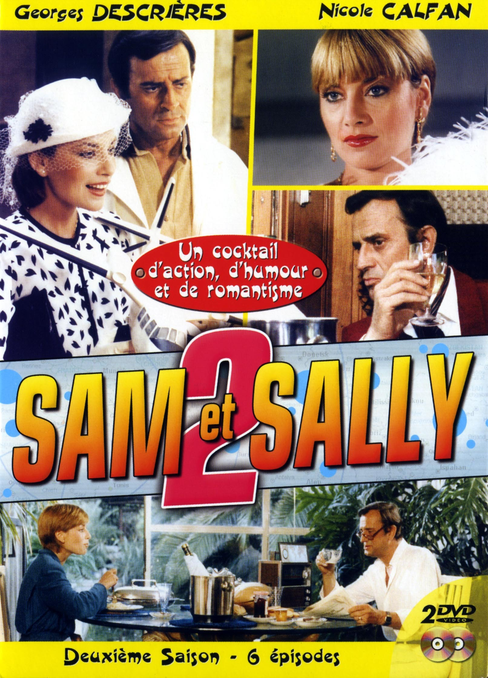 SAM ET SALLY 2 - 2 DVD  6 EPISODES