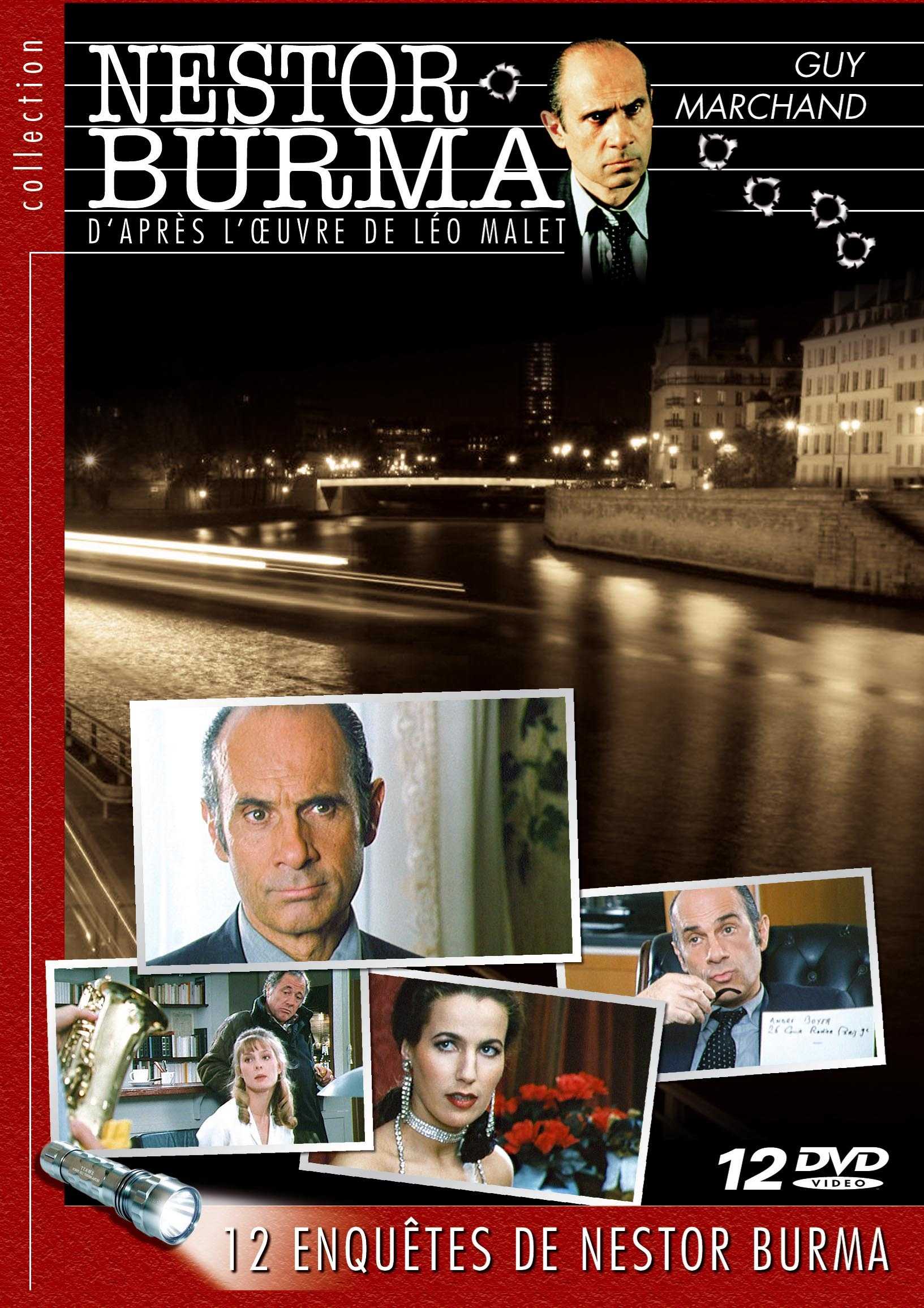 NESTOR BURMA VOL 2 - 12 DVD