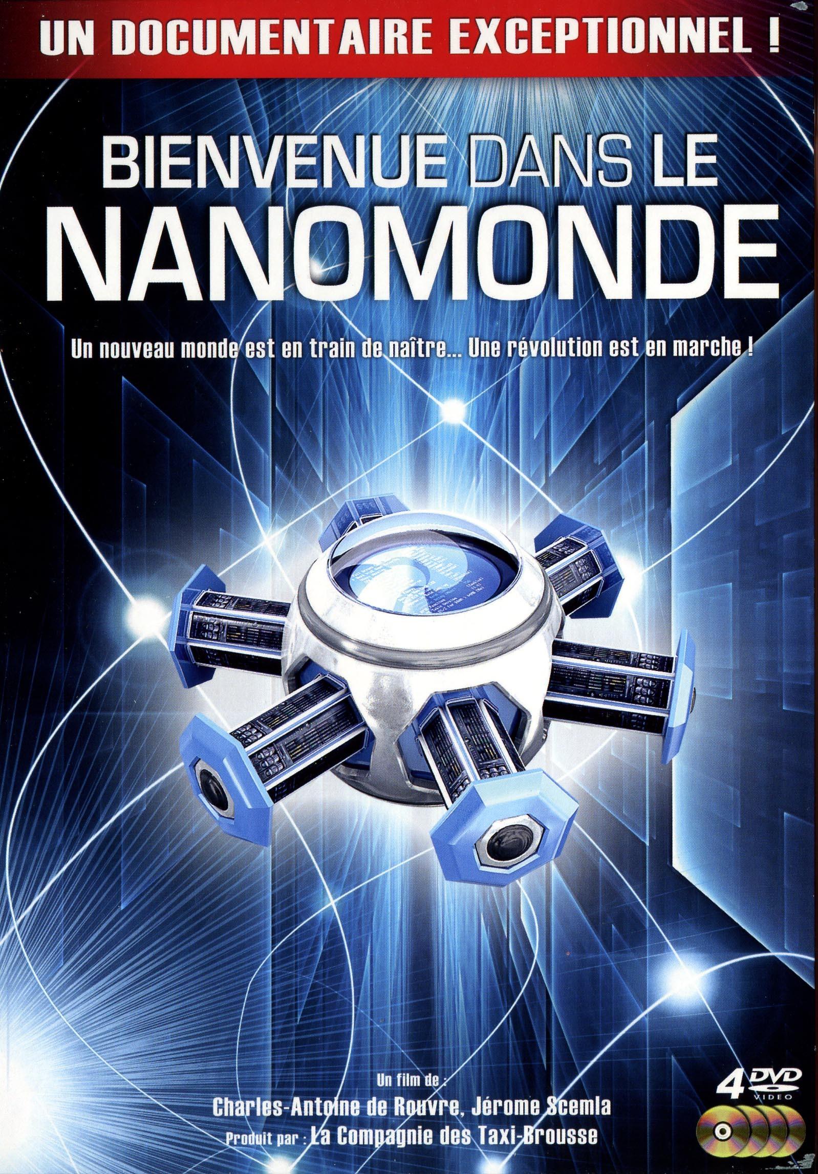 BIENVENUE DANS LE NANOMONDE - 4 DVD