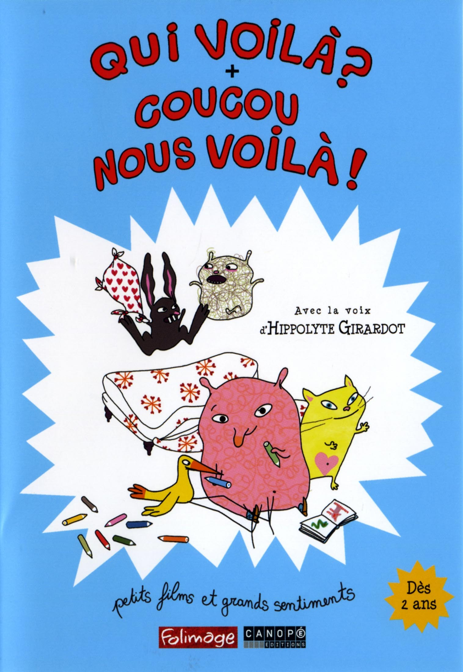QUI VOILA ? + COUCOU NOUS VOILA ! - DVD