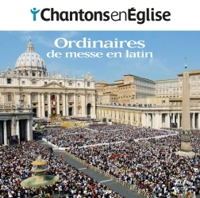 CHANTONS EN EGLISE - 8 ORDINAIRES DE MESSE EN LATIN - ED. ADF BAYARD MUSIQUE