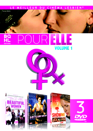POUR ELLE - VOL. 1 - (COFFRET 3 DVD) BEAUTIFUL WOMEN - LET'S LOVE HONG KONG -SHOW ME