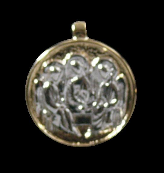 MEDAILLE OR - TRINITE ARGENT