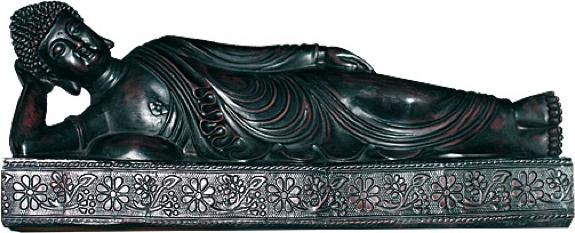BOUDDHA COUCHE RESINE - INDE