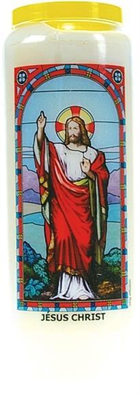 NEUVAINE VITRAIL : JESUS CHRIST