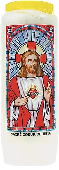 NEUVAINE VITRAIL : SACRE COEUR DE JESUS