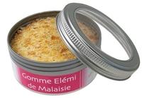 ENCENS GOMME ELEMI DE MALAISIE RESINE NATURELLE BOITE 100 G
