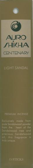 AUROSHIKHA - CENTENARY - LIGHT SANTAL - LOT DE 5