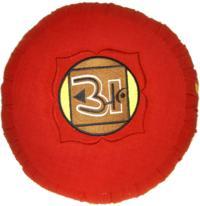 ZAFU - CHAKRA MULADHARA - ROUGE