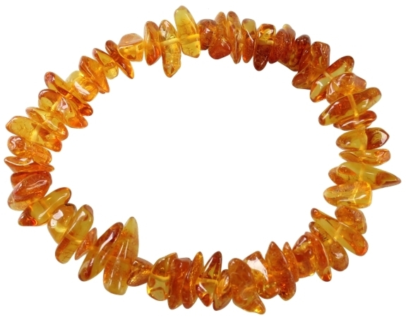 BRACELET AMBRE CHIPS LOT DE 3