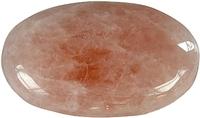 GALET QUARTZ ROSE - PIECE DE 3,5 X 4 CM