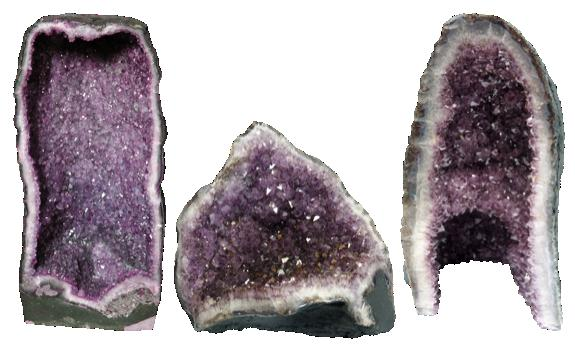 GEODE AMETHYSTE BRESIL - QUALITE EXTRA - 2,5 A 3 KG