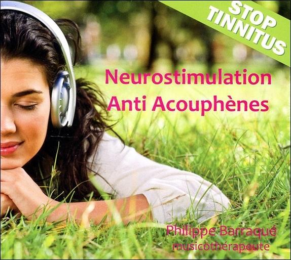 NEUROSTIMULATION ANTI ACOUPHENES - STOP TINNITUS - CD - AUDIO