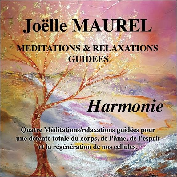 MEDITATIONS & RELAXATIONS GUIDEES - HARMONIE - CD - AUDIO