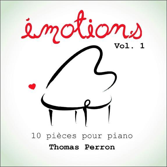 EMOTIONS VOLUME 1 - 10 PIECES POUR PIANO - CD - AUDIO