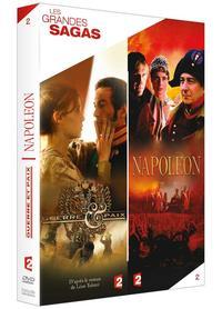 GRANDES SAGAS V2 GUERRE ET PAIX - NAPOLEON - 4 DVD
