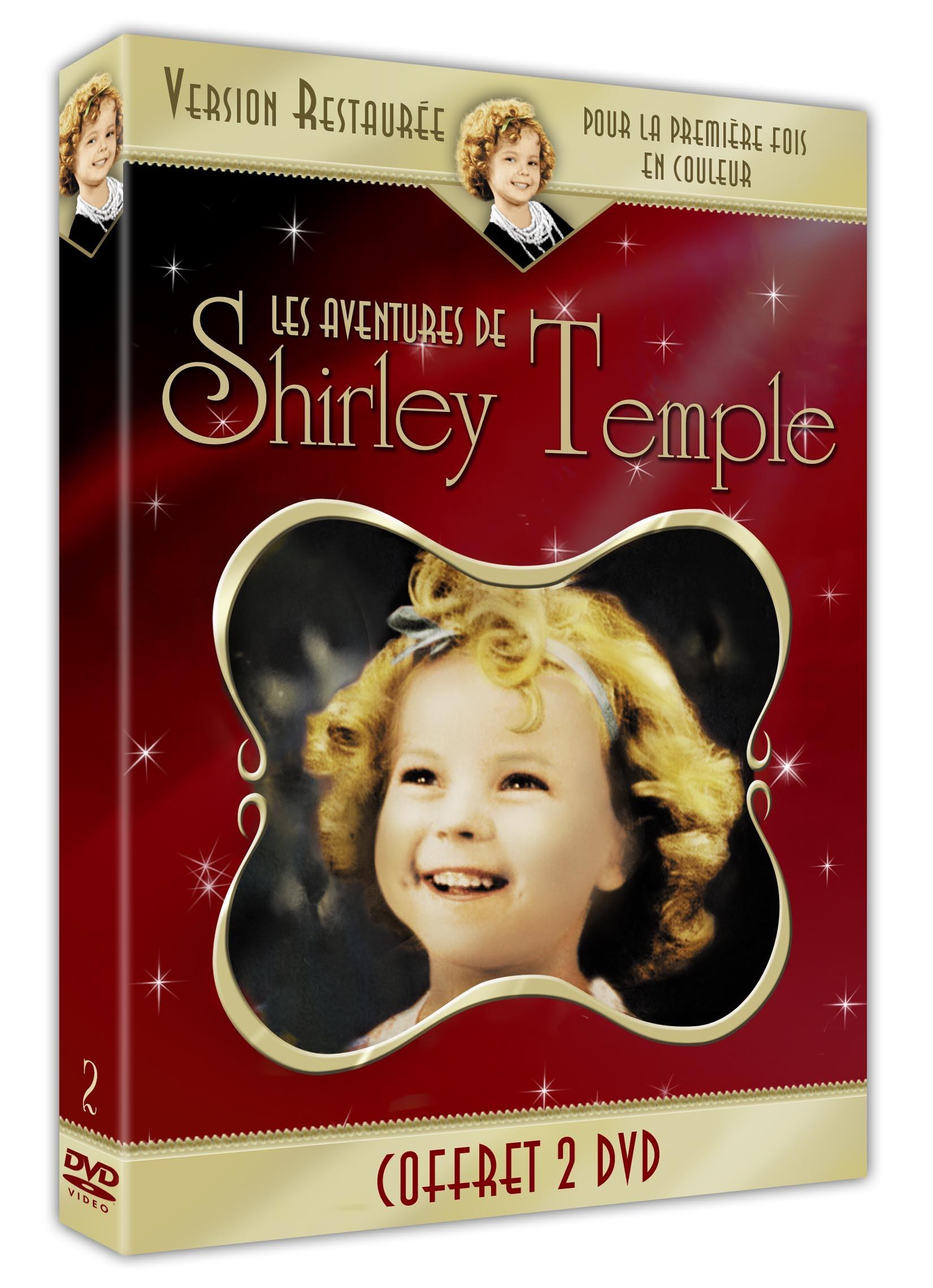 COFFRET SHIRLEY TEMPLE - 2 DVD