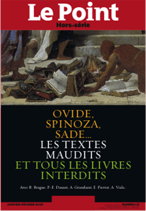 LE POINT REFERENCES N 21 - LES TEXTES MAUDITS