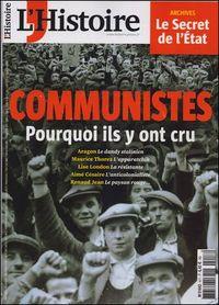 L'HISTOIRE N 417 COMMUNISTES POURQUOI ILS Y ONT CRU  NOVEMBRE 2015