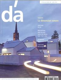 D'ARCHITECTURES N 243  LA DIMENSION SONORE