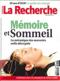LA RECHERCHE N 512 MEMOIRE ET SOMMEIL  JUIN 2016