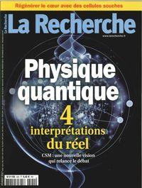 LA RECHERCHE N 520  PHYSIQUE QUANTIQUE FEVRIER 2017