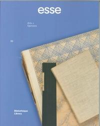 ESSE N 89 BIBLIOTHEQUE - LIBRARY  JANVIER 2017