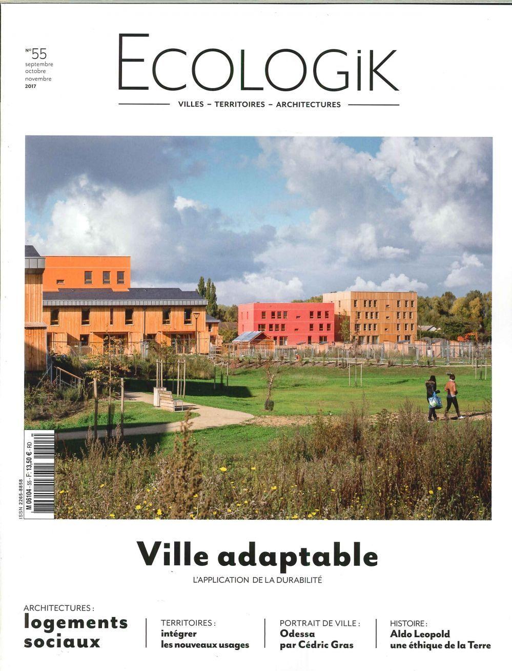 ECOLOGIK N 55 - VILLE ADAPTABLE -SEPTEMBRE/NOVEMBRE 2017