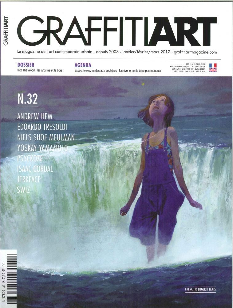 GRAFFITIART N 32 INTO THE WOOD JANVIER/MARS 2017