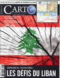 CARTO N 43 - LES DEFIS DU LIBAN- SEPTEMBRE/OCTOBRE 2017