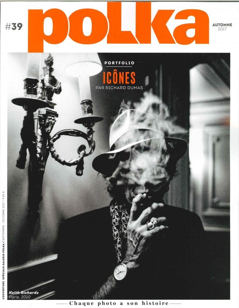 POLKA N 39  ICONES  AOUT 2017
