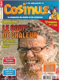 COSINUS N 195 LE COUP DE CHALEUR JUILLET/AOUT 2017