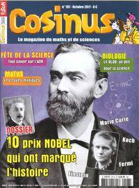 COSINUS N 197 10 PARCOURS DE NOBEL OCTOBRE 2017