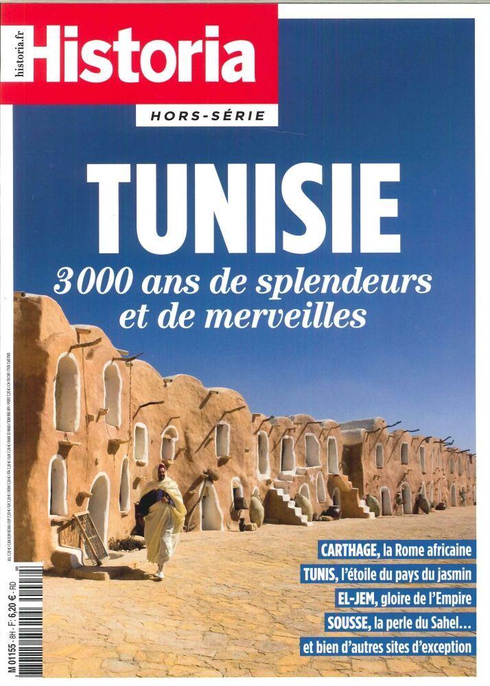 HISTORIA HS TUNISIE 3000 ANS DE SPLENDEURS ET MERVEILLES JUILLET 2017